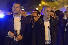 Hollande devant Bataclan