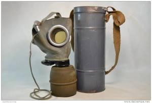 masque à gaz WWII