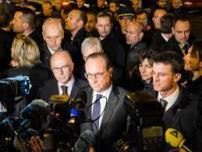 Hollande au Bataclan