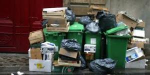 ordures ménagères à Paris