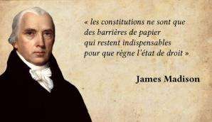 Constitutions et etat de droit