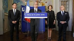 Nice le 15 juillet Hollande