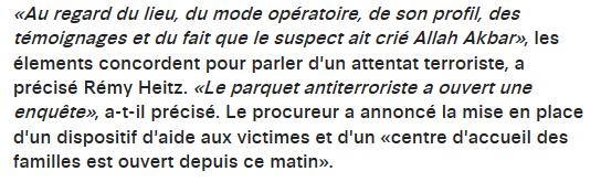 Attentat terroriste Strasbourg